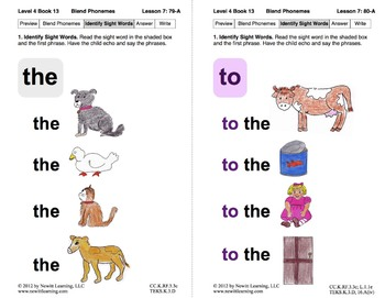 Blend Phonemes: Lesson 7, Book 13 (Newitt Decoding Series)