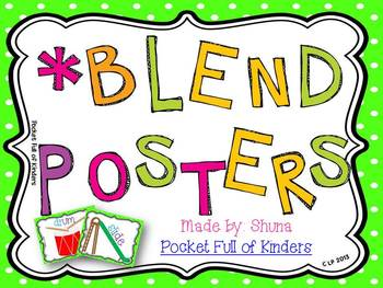 Blend/Digraph Posters {Posters for a Focus Wall or Small Group}