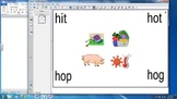 Blend, Read and Match CVC Words to Pictures