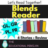 Blends Reading Worksheets - GL, GR, PL, PR Sound