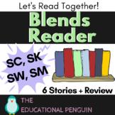 Blends Reading Worksheets - SC, SK, SW, SM Sound