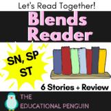 Blends Reading Worksheets - SN, SP, ST Sound