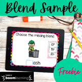 Blend Sample Boom Learning Task Cards | Distance Learning
