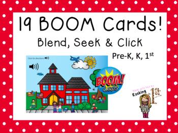 Blend, Seek and Click Schoolhouse PLUS Blend, Seek & Color FREEBIE!