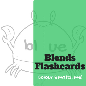 Blend Smoothie Flashcard Sheets - Bl | Cl | Fl | Gl | Pl