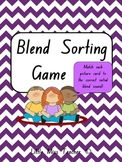 Blend Sorting Phonics Game - 13 Blend Boards and 74 Cards!