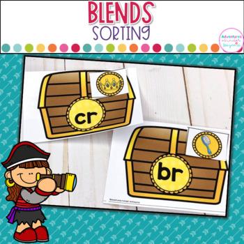Blends Sorts- A Treasure of Blends