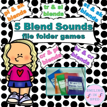 Blend Sounds File Folder Games