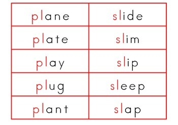 Blend Word Cards