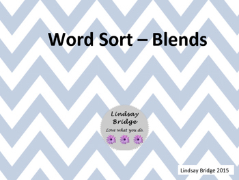 Blend Word Sort