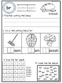Blend activity worksheets