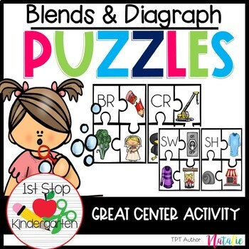 Blend and Diagraph Puzzles