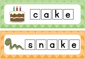 Blend and Digraph Build a Word