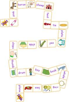 Blend and Digraph Dominoes