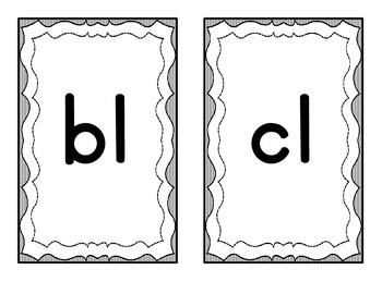 Blend and Digraph Mini Posters - FREEBIE