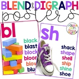 Blend and Digraph Posters with Photographs