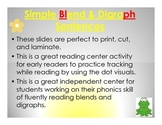 Blend and Digraph Sentences