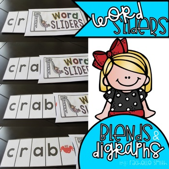 Blend and Digraph Word Sliders (Blending Practice)