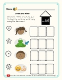 -Ad Word Family Kit  29 pages (Blend Seg CVC) Transitional