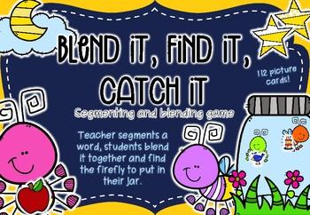 Blend it, Find it, Catch it! A segmenting game