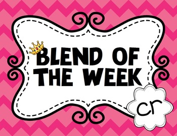 Blend of the Week - cr