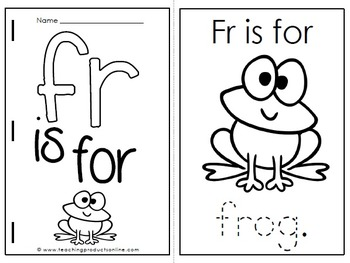 Consonant Blend FR Digraph