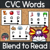 Blend to Read CVC Words With Keyword Pictures