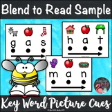Blend to Read Short A Words With Keyword Pictures