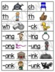 Blend to Read Short Vowel Words With Consonant Digraphs and Keyword Pictures