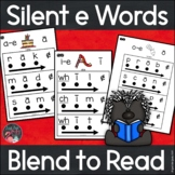 Blend to Read Silent e Words With Key Word Pictures