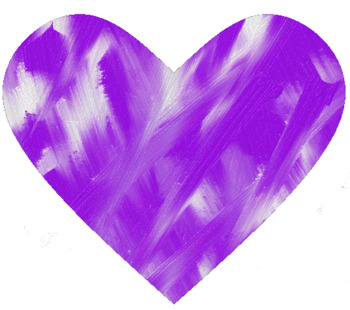 Blended Bright Purple and White Borders, Frames, and Clip Art