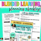 Blended Learning School Planning   Teacher Tips & EDITABLE