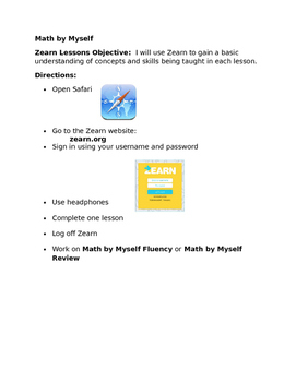Blended Learning Task Card