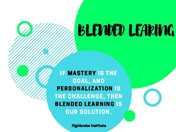 Blended Learning in an Early Childhood Classroom Presentation
