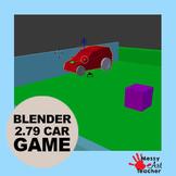 Blender 2.79 Game 3D Worksheet Lesson for Middle/High School