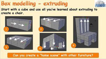 Blender 3D - (10-13) 3D Text, modelling - extruding, loop cuts, insets, beveling