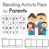 Blending Activity Pack Phonemic Awareness and Phonological Awareness