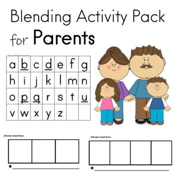Blending Activity Pack Phonemic Awareness and Phonological