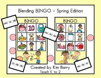 Blending BINGO - Springtime Edition