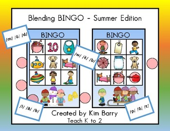 Blending BINGO - Summer Edition