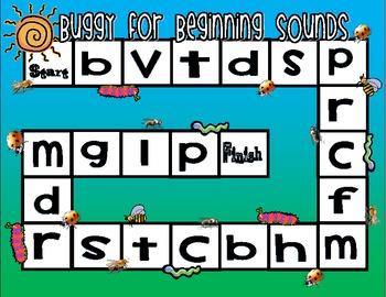 Blending, Beginning Sounds, and Ending Sounds Practice