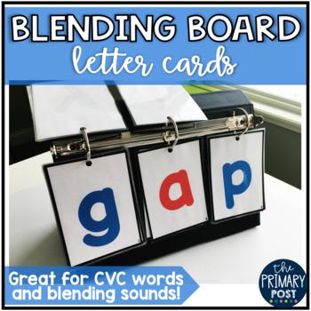 Blending Board Letter Cards