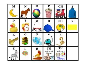 Blending Board Program for Articulation, Phonemic & Phonological Awareness