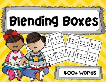 Blending Boxes Bundle: 400+ Words