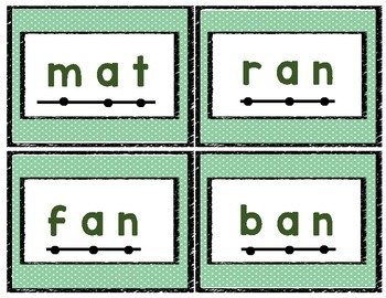 Blending CVC, CVCe word cards!  LOW PREP!