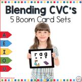 Blending CVC Words Boom Cards