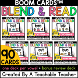 CVC Boom Cards™️ for Blending CVC Words Distance Learning