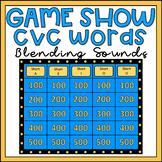Blending CVC Words Game Show EDITABLE