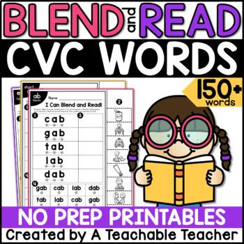 Blending CVC Words & Reading CVC Words
