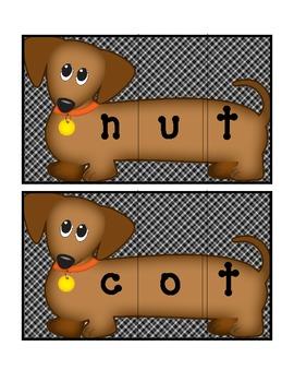 Blending CVC and CVCC word cards